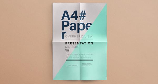 001-a4-letter-paper-brand-presentation-overhead-view-mockup-vol-2