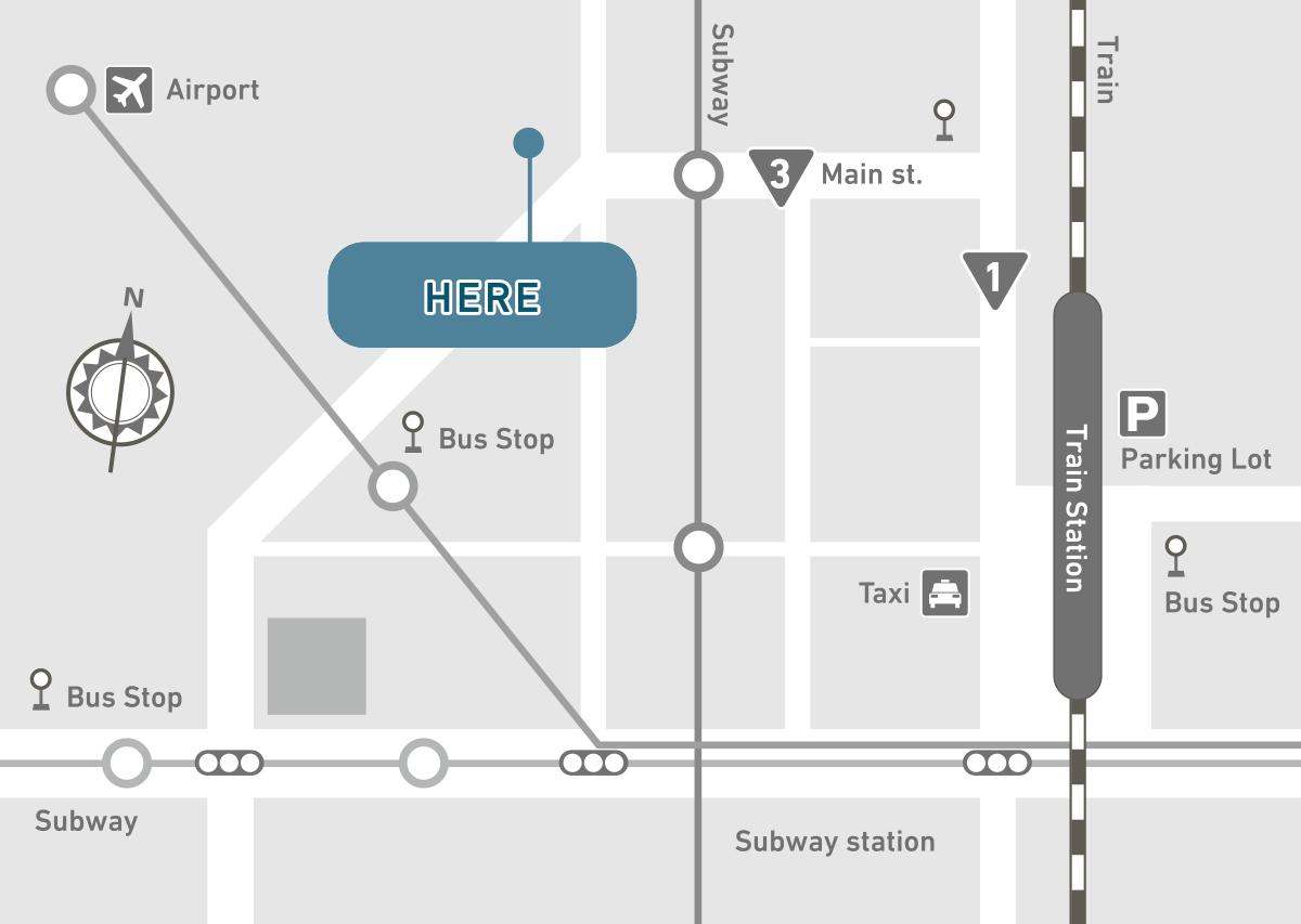 Illustrator 地図の作成などに便利なアピアランス機能